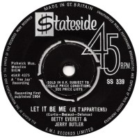 "Jerry Butler & Betty Everett, ""Let It Be Me"""