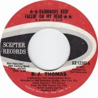 "B.J. Thomas, ""Raindrops Keep Fallin' on My Head"""