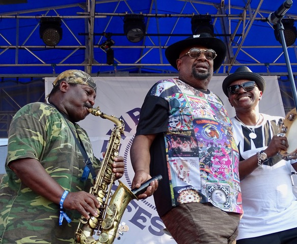 George Clinton and P Funk