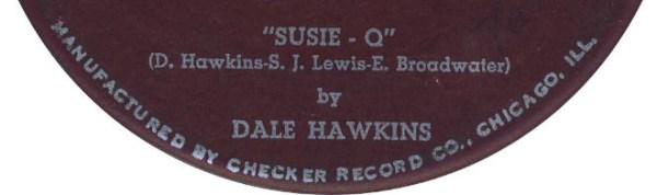 "Dale Hawkins - ""Susie Q"""