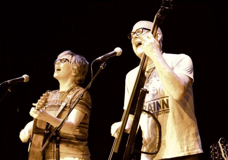 Marti Jones and Don Dixon