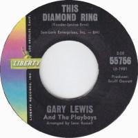 "Gary Lewis & The Playboys, ""This Diamond Ring"""