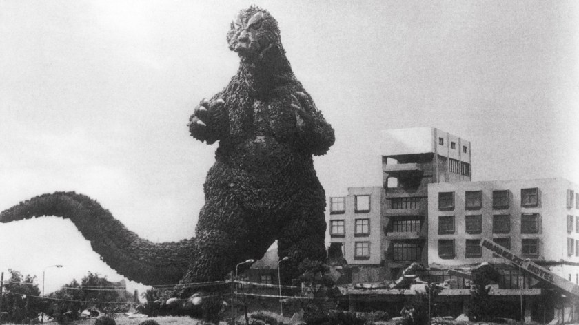 "Critic John Powers writes, ""There's an amoral pleasure to be had in watching Godzilla reduce Tokyo to fiery rubble."""