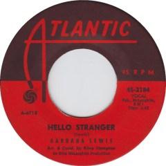 Barbara Lewis - Hello Stranger