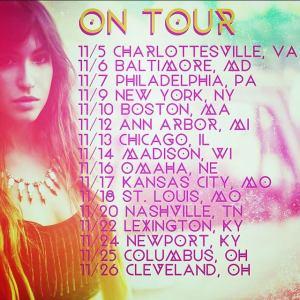 Kate Voegele Tour
