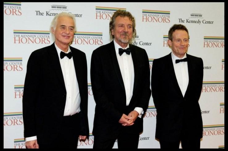 Led Zeppelin Kenney Center Honors