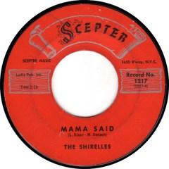 The Shirelles - Mama Said
