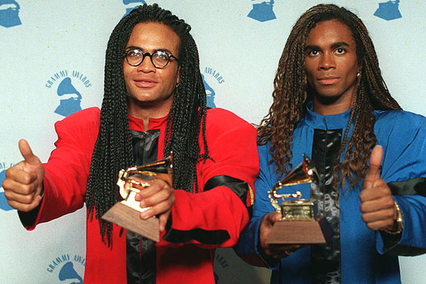 Milli Vanilli Grammy Award