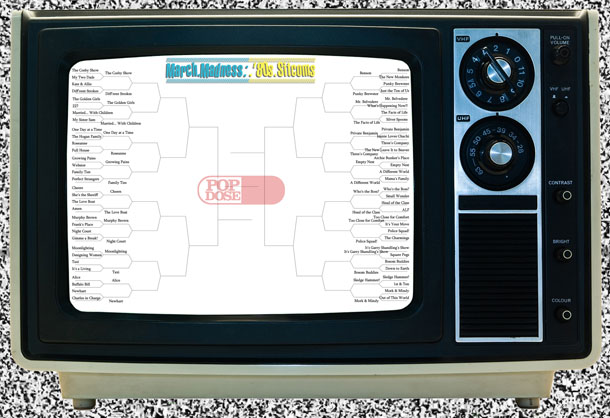 Popdose '80s Sitcom March Madness – Small Bracket, Round 2