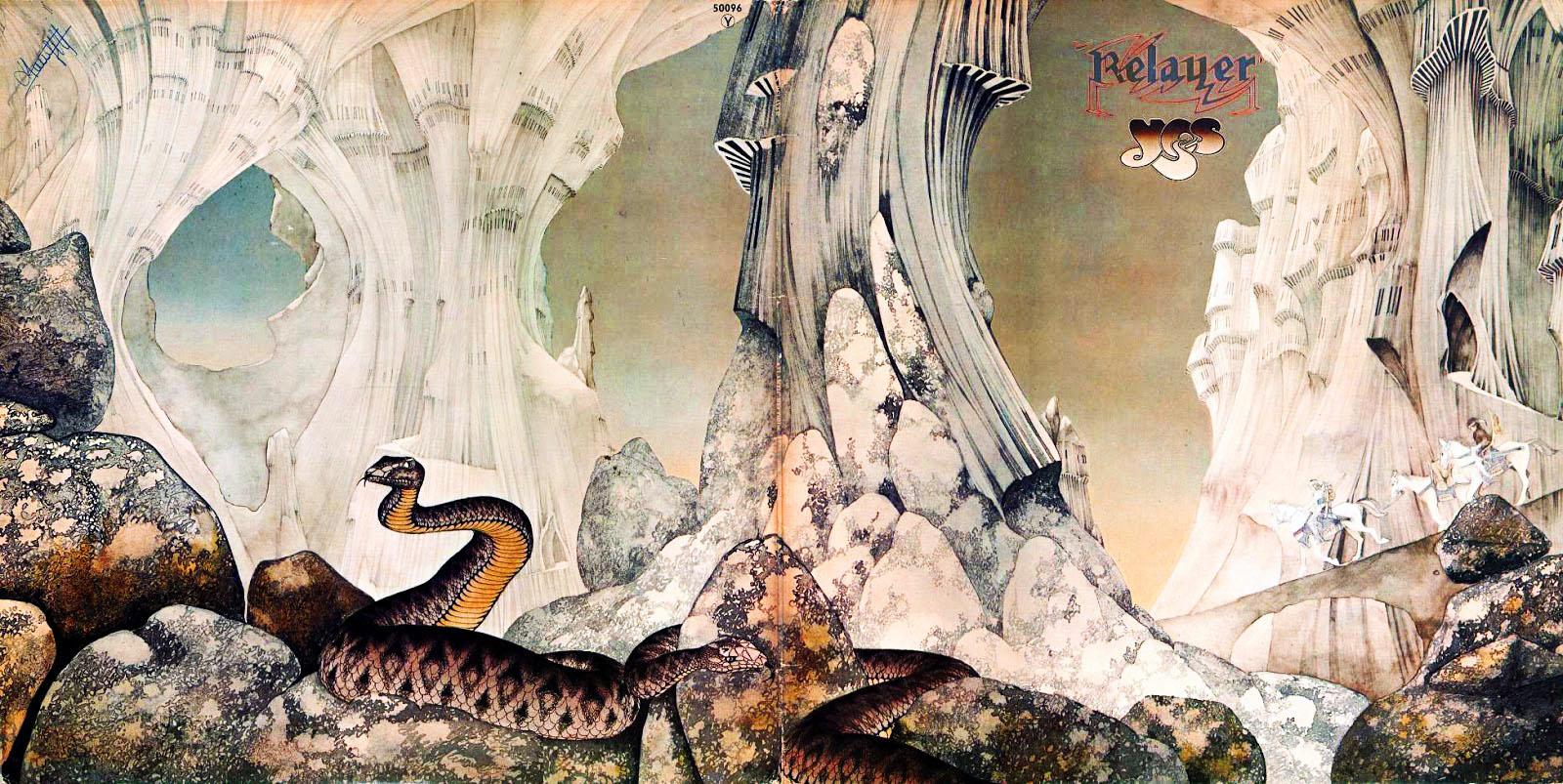 Top 10 Roger Dean Album Covers Octopus Cartoon Images