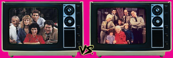 '80s Sitcom March Madness - Cheers vs. She's the Sheriff