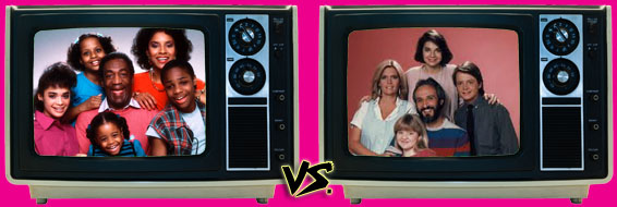 '80s Sitcom March Madness - (1) The Cosby Show vs. (2) Family Ties