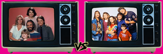'80s Sitcom March Madness - (2) Family Ties vs. (3) Roseanne