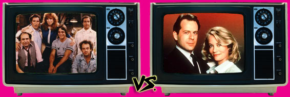 '80s Sitcom March Madness - (3) Taxi vs. (6) Moonlighting