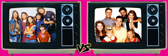 '80s Sitcom March Madness - Roseanne vs. Full House