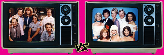 '80s Sitcom March Madness - Taxi vs. It's a Living