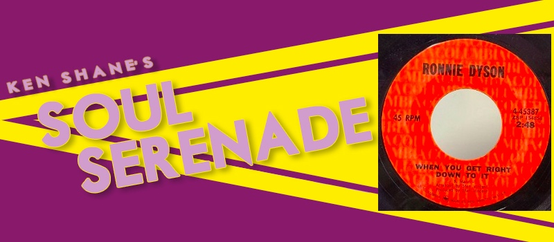 Soul Serenade - Ronnie Dyson