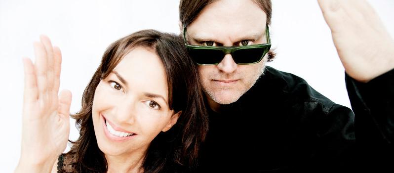 Susanna Hoffs and Matthew Sweet