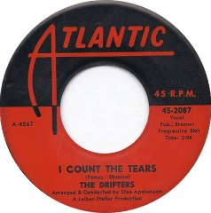 """The Drifters, """"I Count the Tears"""""""
