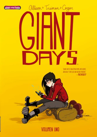 PORTADA GIANT DAYS pop fiction