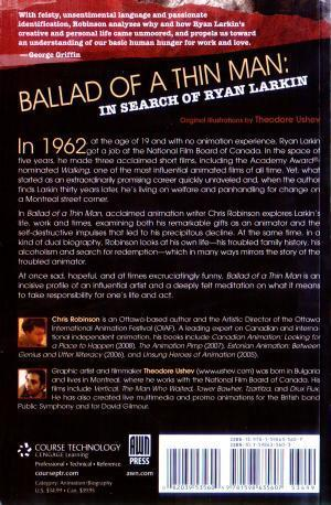 Ballad of a Thin Man: The Life of Ryan - Back Cover