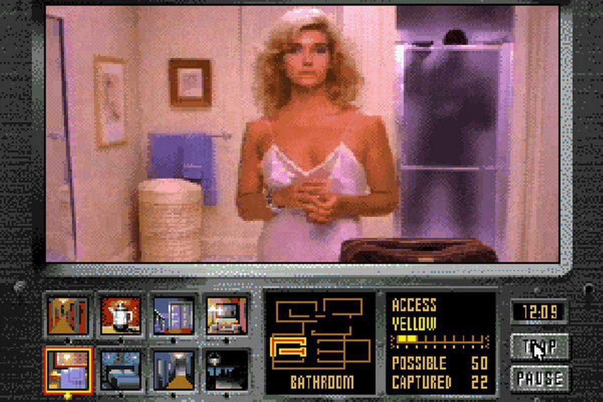 Image result for Night Trap game case sega cd
