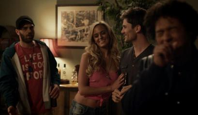 Jared Cohen as Richie; Jena Sims as Tiffani - Minutes To Midnight Movie Review