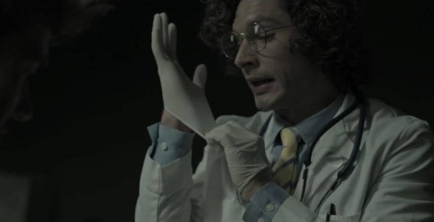Jackson Davis as Bill - The Basement Movie Review