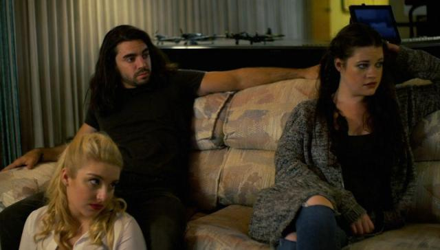 Emmaline Friedrichs as Calista (top right), Claudio Parrone Jr. as Jeremy (top left), Carly Rae James Sauer as Grace (bottom left) - The Nursery Movie Review
