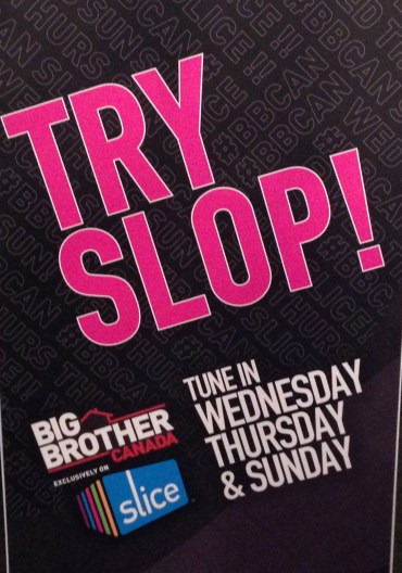 'House Guests' at the premiere were able to chow down on the have-not food stable - 'Big Brother' Slop.
