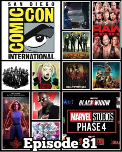 Amazing Nerd Show: Ep 81 Our SDCC News Round Up! Marvel