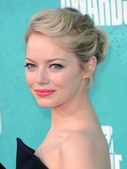 Emma Stone Updo Hairstyles For Prom PoPular Haircuts