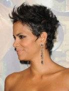 Halle Berry Black Pixie Haircuts 2013