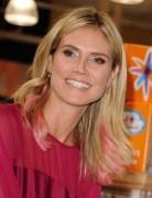 Heidi Klum Easy Medium Hairstyle 2013 for Straight Hair