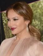 Jennifer Lopez Brown Ponytail Hairstyles 2013