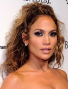 Jennifer Lopez Tousled Long Curly Hairstyles 2013