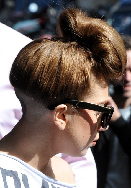 Lady Gaga Updo Hairstyles For Long Hair PoPular Haircuts