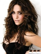 Brown Messy Hairstyle for Long Hair Emmy Rossum Hairstyles