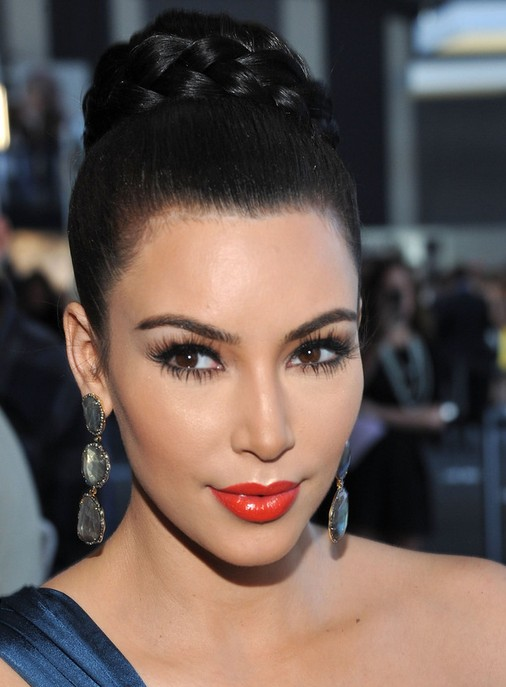 Kim Kardashian Hair Light Brown