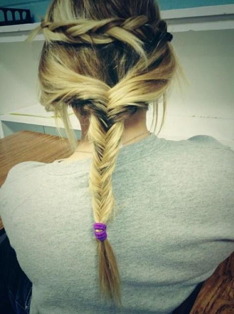 2014 Braided Hair Styles: Fishtail Twist Braid for Holiday