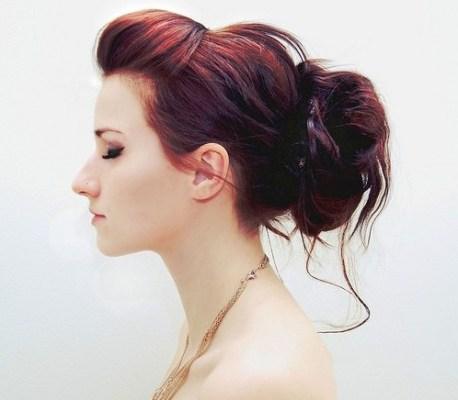 2014 Updo Hairstyles: Different types of bun hairstyles