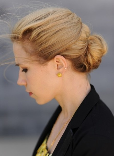 2014 Updo Hairstyles: Quick updos for women and girls