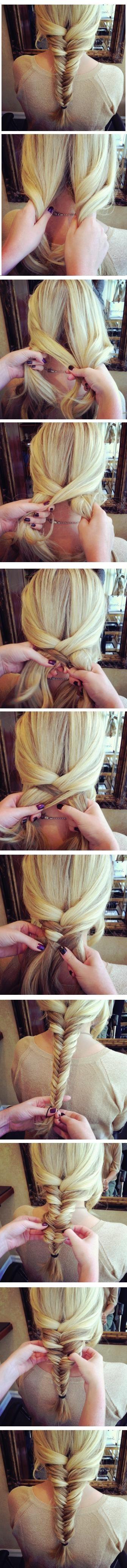 Fishtail Braid Tutorial: Cute Hairstyles for Girls