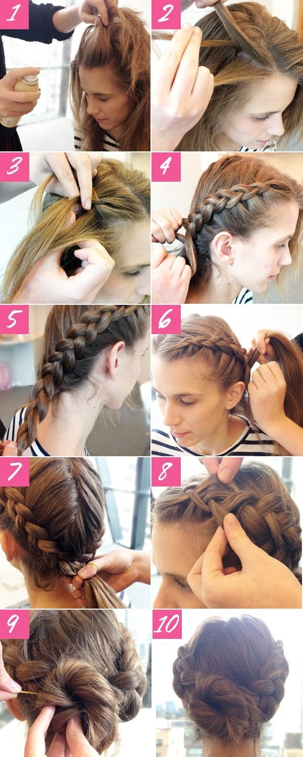 10 super easy updo hairstyles tutorials - popular haircuts