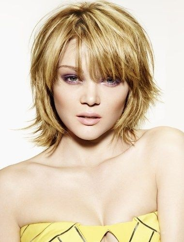 Short Bob Haircut for Heart Shaped Faces