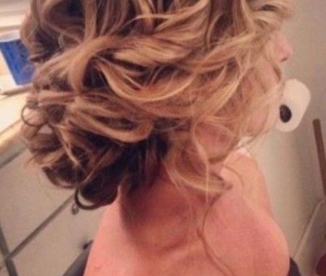 Messy Updo Hairstyles For Wedding Bridesmaids Hair Styles