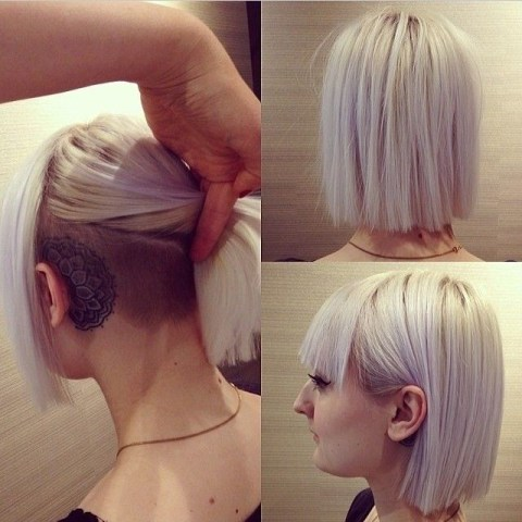 Super Awesome Hairstyles for Short Hair: Blunt Straight Bob