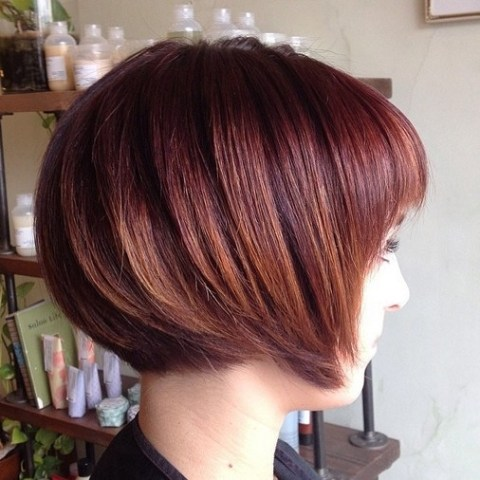 Trendy Straight Short Bob for Thick Hair