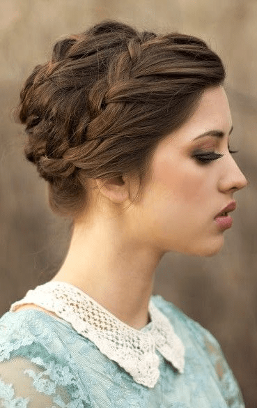 Updo hairstyles for medium hair the best hair 2017 60 easy updos for medium length hair pmusecretfo Image collections