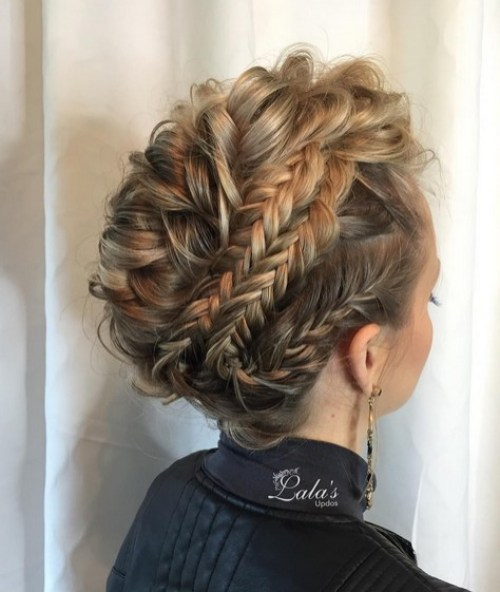 27 Super Trendy Updo Ideas For Medium Length Hair Crazyforus